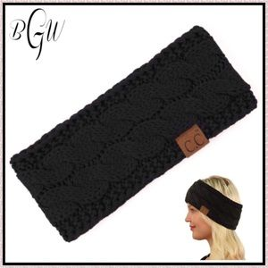 🆕Warm and Cozy Braided Black Sherpa Headband